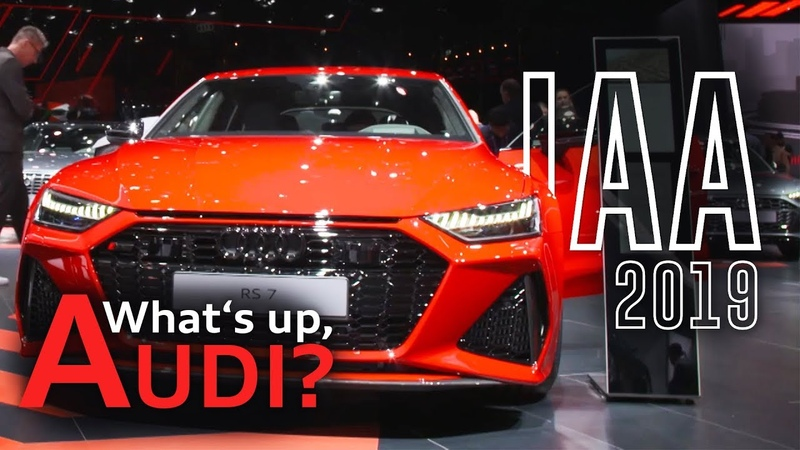 The new Audi RS 6 Avant RS 7 at the IAA 2019 and the Audi e-tron extreme tour   What's up, Audi?