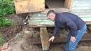 Подъем дома 9 на 9 в Вологодской области реконструкция фундамента