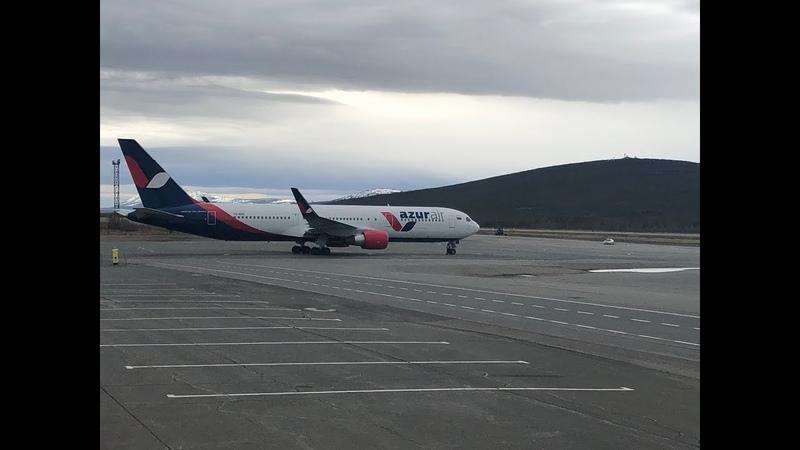 Azur air/Нячанг/Boeing 767-300ER/Магадан