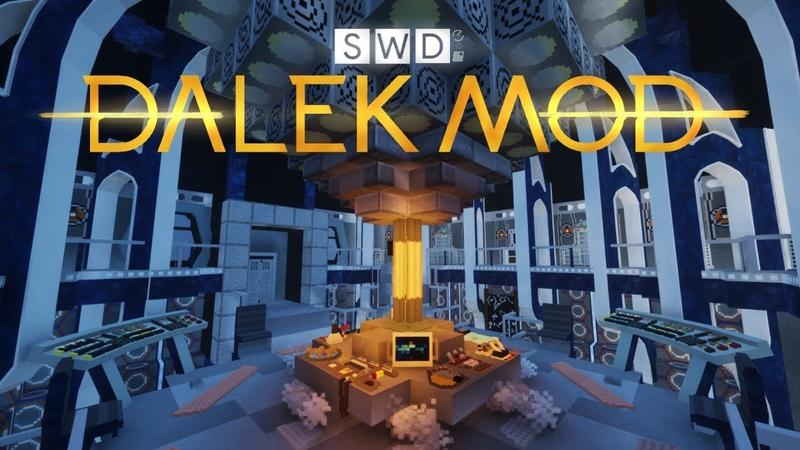 All Dalek Mod TARDIS interiors in Minecraft