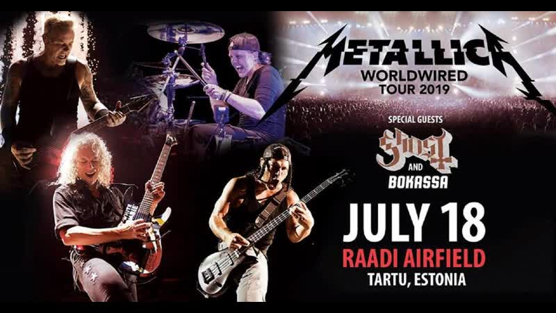 Metallica - Live In Raadi Airfield, Tartu, Estonia. July 18, 2019. (Full Concert 145)[1080p].