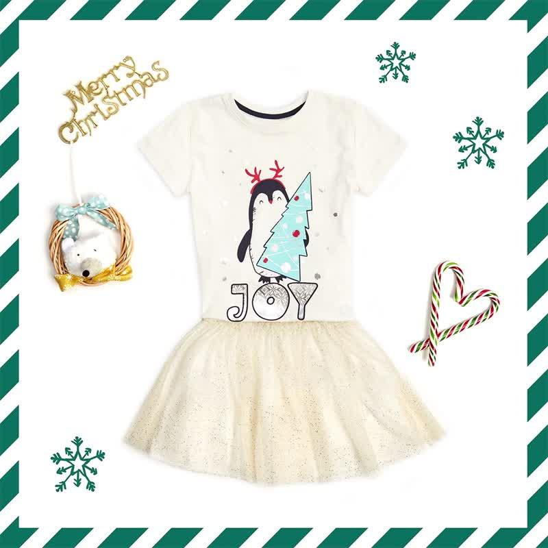 FUNDAY: футболки и юбка клёш для девочки
