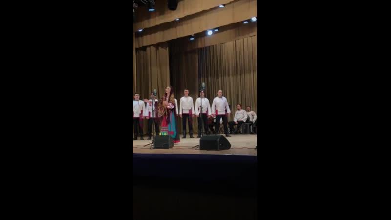 Хор им Пятницкого Солистка Анна Хазова Плач сухопляс