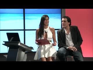 Barbara francesca ovieni tv presenter upskirt legs boobs gorgeous women