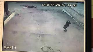 Пьяный клиент забрал мотоцикл из ремонта.