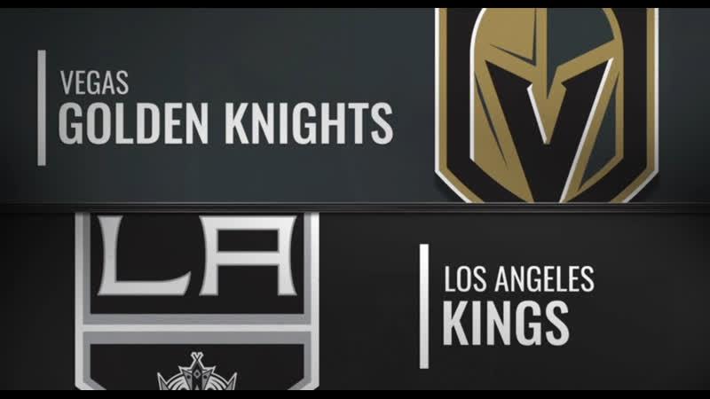 NHL Preseason Game 2019 Vegas Golden Knights-Los Angeles Kings