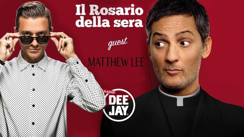 Matthew Lee ospite di Fiorello ll Rosario della Sera 9 Maggio 2019
