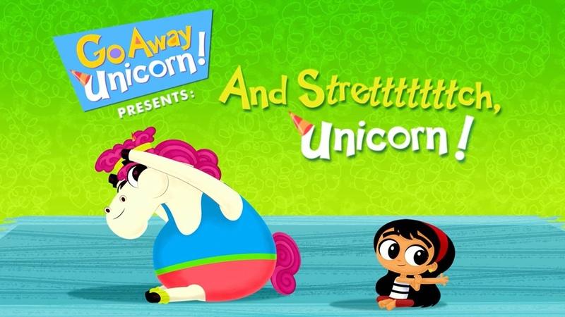 And Stretchhhhhh, Unicorn! | Go Away Unicorn! | Disney Channel
