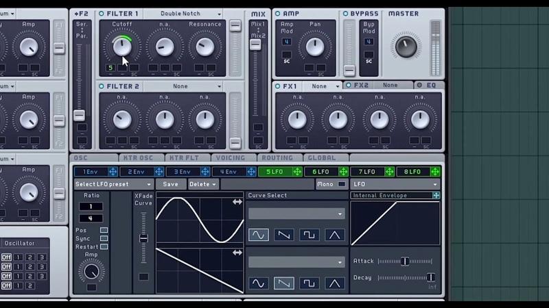 SINTEZ BASS REESE/ Masssive / Waves Enigma/ Tutorial