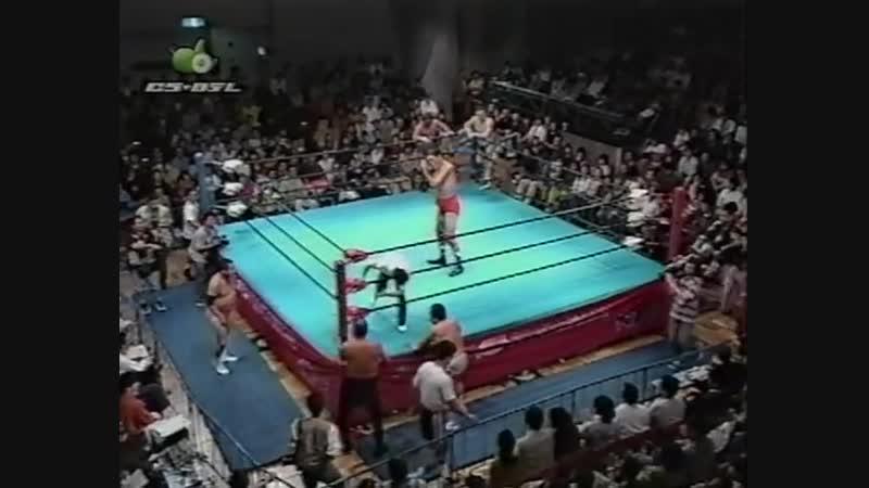 1997.09.27 - Giant BabaRusher KimuraMitsuo Momota vs. Haruka EigenJun IzumidaMasanobu Fuchi [JIP]