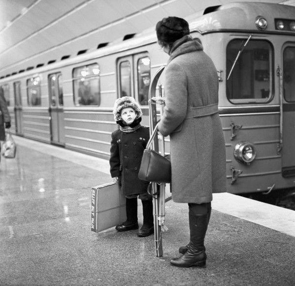 """Метро """"Планерная"""", Москва, 1976 год"""