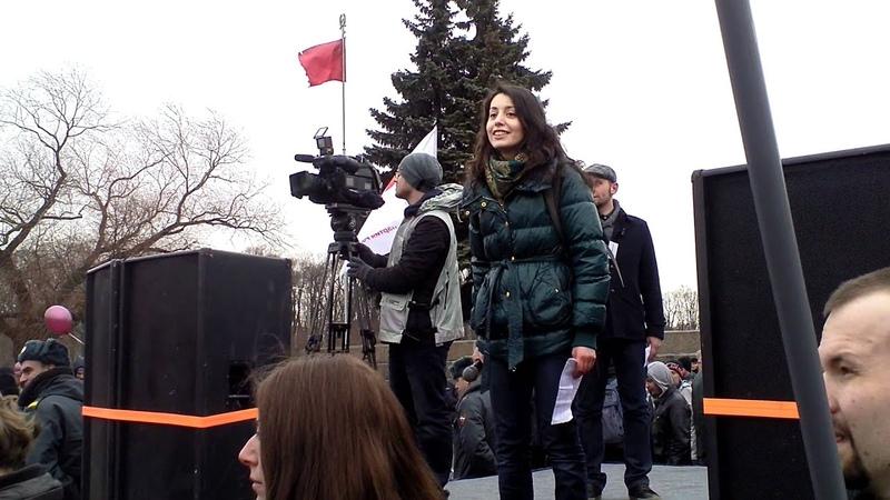 Митинг 24 марта часть 3 СтудАктив