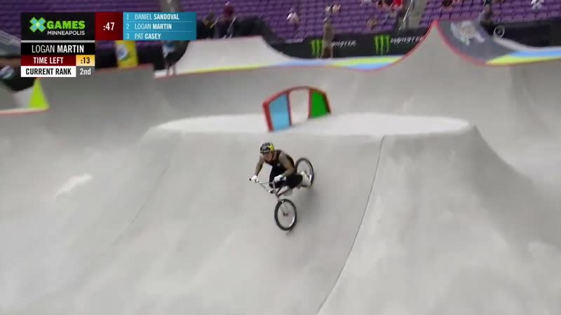 Pacifico BMX Park (X Games Миннеаполис 2019)