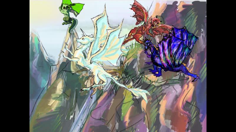 Polet drakonov 1 kosti move999777