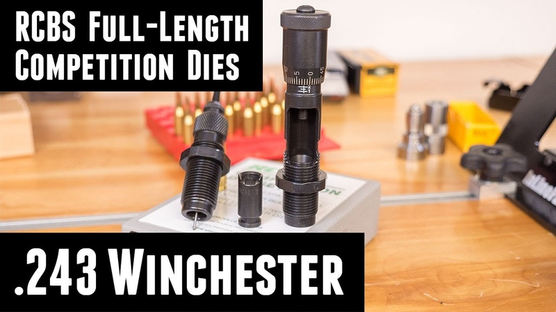 RCBS Full-Length Competition Dies in .243 Winchester