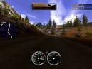 NFS Hot Pursuit 2 (2002) - NFS McLaren F1 LM (Дорога в Альпах, зеркало вперед)