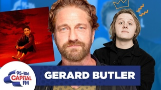 Gerard Butler Covers Lewis Capaldi's 'Hold Me While You Wait' 🎶 | FULL INTERVIEW | Capital