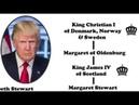 Pharaoh Trump Genealogy Blood Ties to Killary Global King Aristocracy Masters over US Slaves