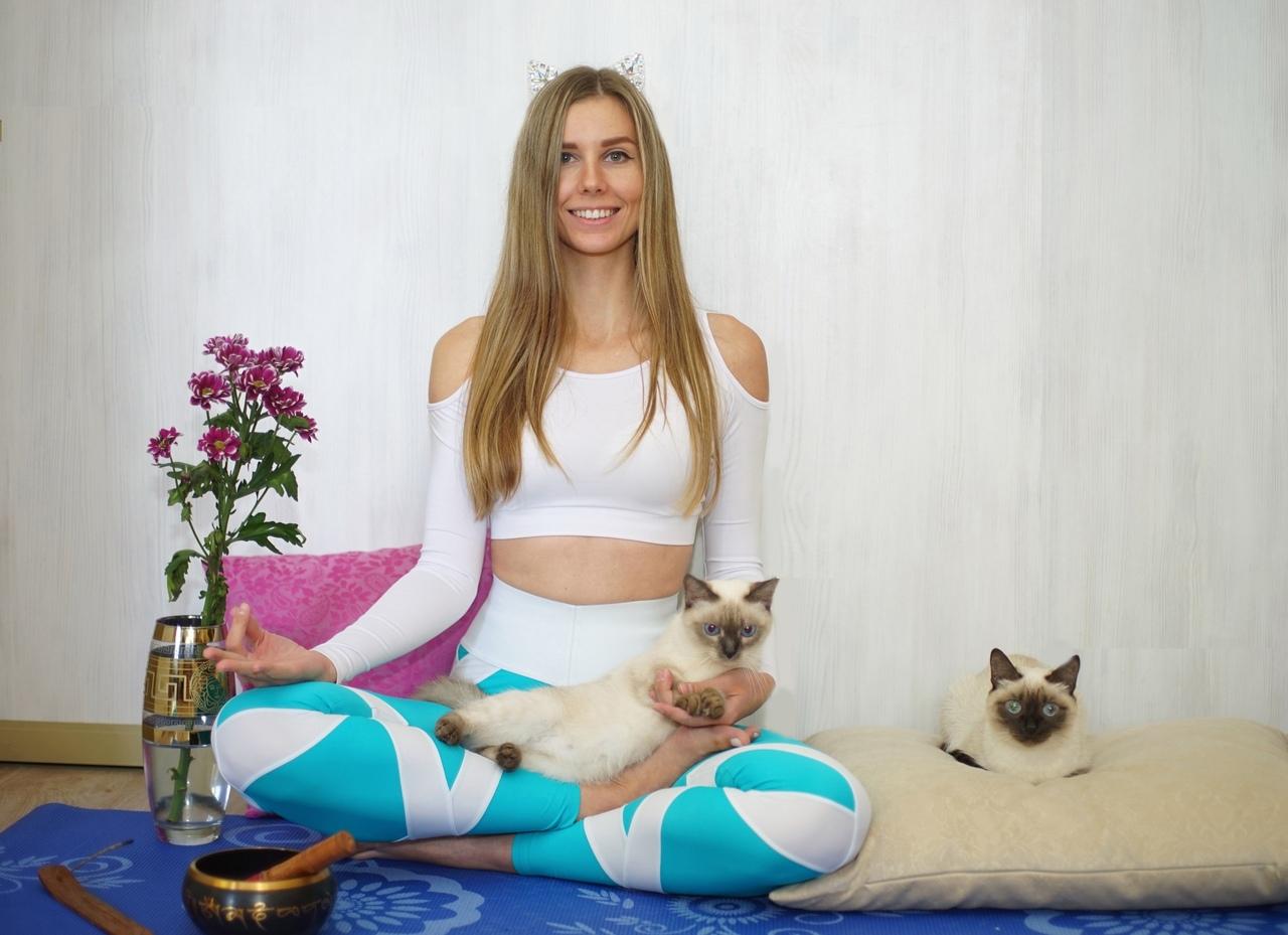 Афиша Челябинск КОТОЙОГА / йога в окружении кошек