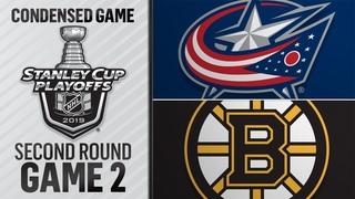 04/27/19 Second Round, Gm2: Blue Jackets @ Bruins