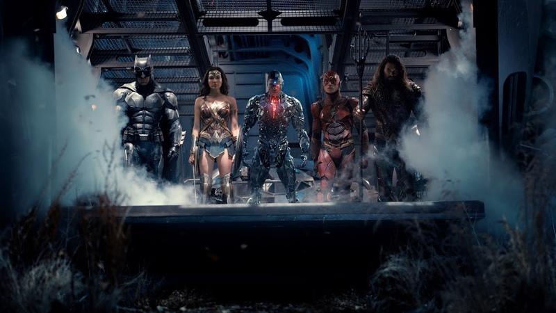 Лига справедливости Первый трейлер