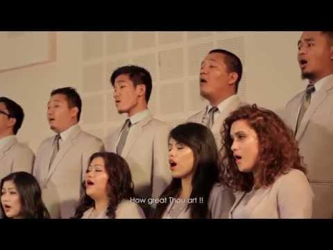 BESY Choir How great thou art