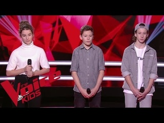 Soprano - Mon Everest | Esteban VS Alaïs VS Joann | The Voice Kids France 2019 | Battles