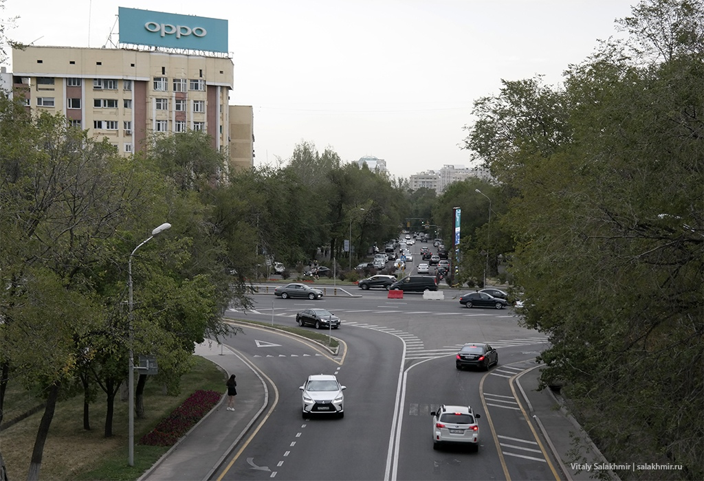 Улица Навои. Алматы, Казахстан 2019