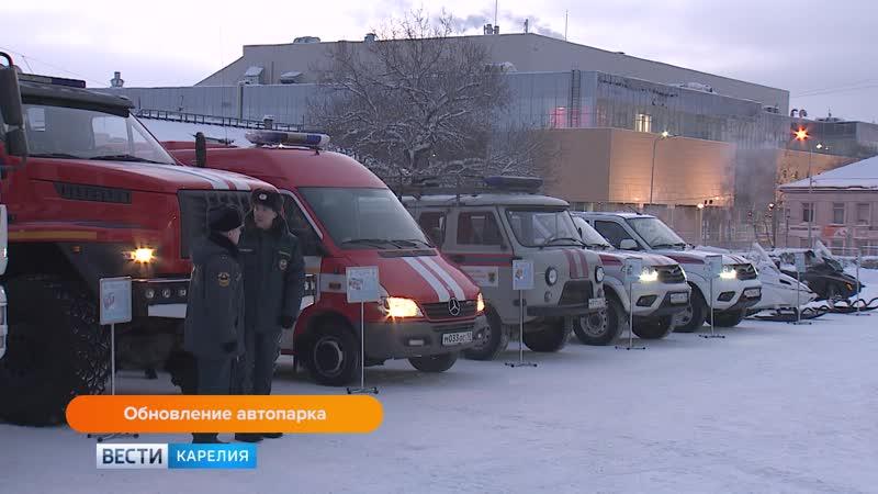 В Петрозаводске вручат ключи от новых пожарных машин для Олонецкого и Пряжинского районов