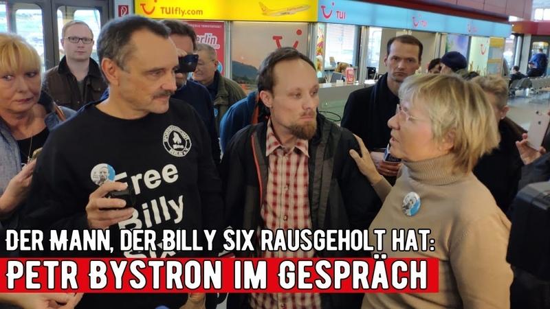 Der Mann der Billy Six rausgeholt hat Petr Bystron im Gespräch