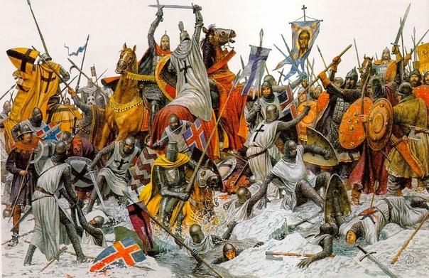 картинка битвы на чукотском озере