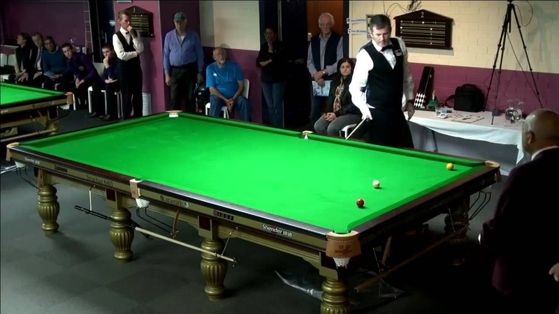 Peter Gilchrist all World Billiards Championships 2015