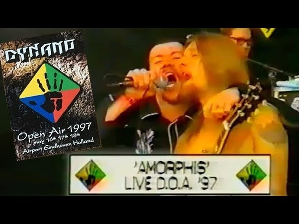 Amorphis - Eindhoven 17.05.1997 Dynamo Open Air (TV)