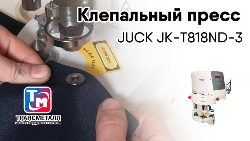 JUCK JK T818ND 3 Клепальный пресс