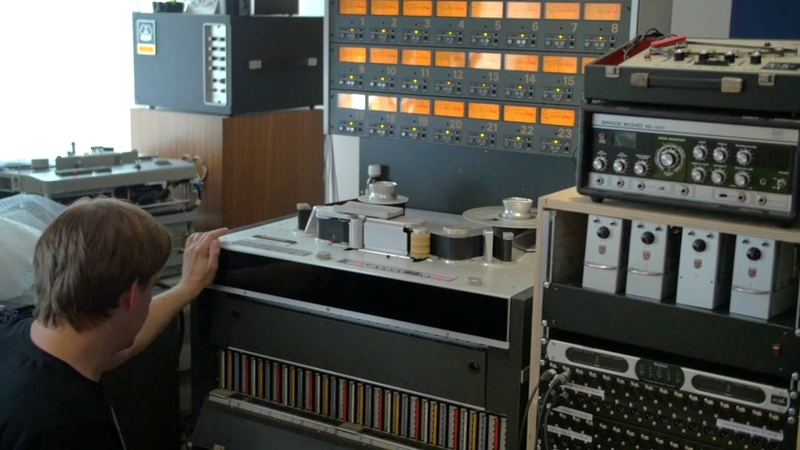 Studer A800 MK III 24 track tape recorder