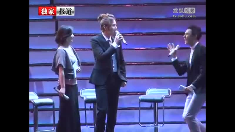 [2011.07.09] Jangkeunsuk REPORT @ tv.sohu The Cri show in Shanghai