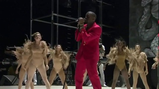 Kanye West - Lost in the World (feat. Justin Vernon) | Live at Coachella 2011 HD