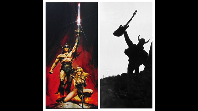 CONAN THE BARBARIAN Riddle Of Steel Riders Of Doom METAL GUITAR COVER VERSION