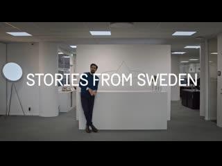 История мехрдада махджуби, создателя космического душа // stories from sweden