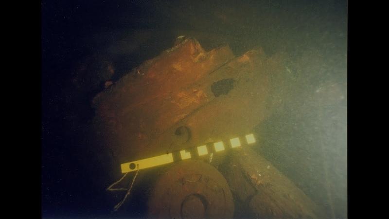 Подводная археология в Выборгском заливе.