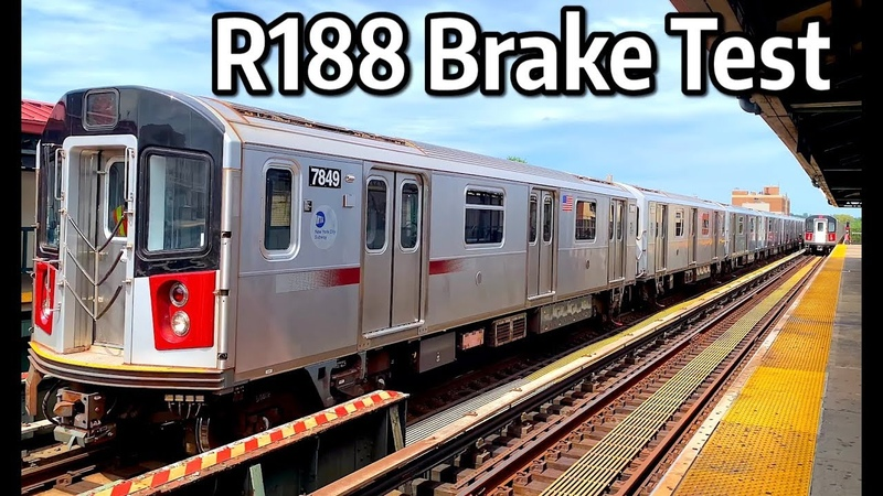 ⁴ᴷ R188s Brake Testing on the White Plains Road Middle Track