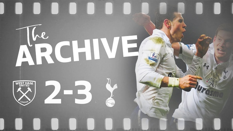 THE ARCHIVE WEST HAM 2 3 SPURS Bale worldie seals dramatic last minute win