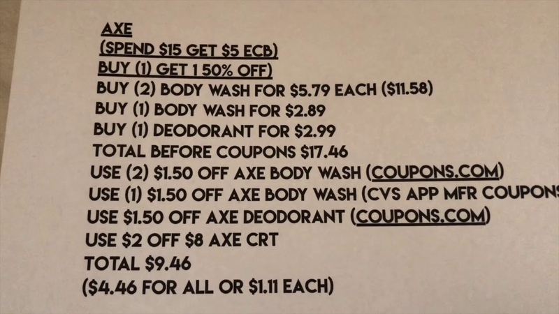 CVS COUPONING 8 18 2019 8 24 2019 GET READY MORE