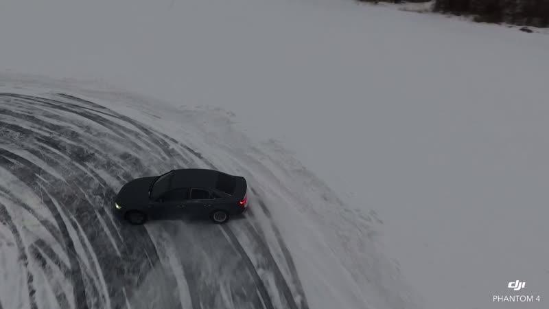 Audi Quattro Ледовая трасса Невьянск