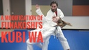 A Modification of Funakoshi's Kubi Wa Throw