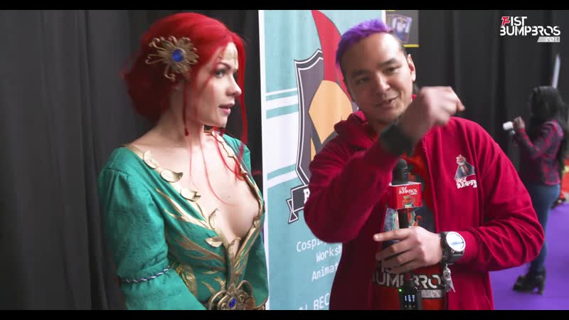 Irine Meier at Comic Con Brussels 2019 Interview and Funkopops Quiz