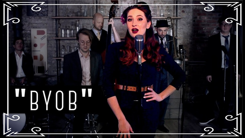 Robyn Adele Anderson - BYOB (System of a Down / vintage military cover)