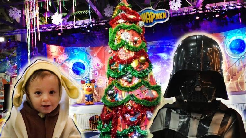 VLOG новогодняя елка в Крокусе Представление Смешарики и Новые Фиксики с Машей Видео для детей