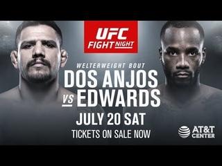 UFC on ESPN 4: Dos Anjos vs. Edwards