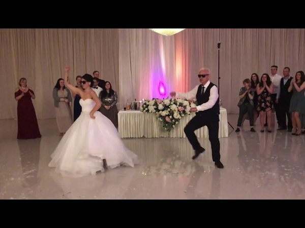 Surprise father daughter(s) wedding dance to epic mashup EpicDanceMashup